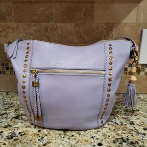 The Sak Simi Hobo Leather, Lavender